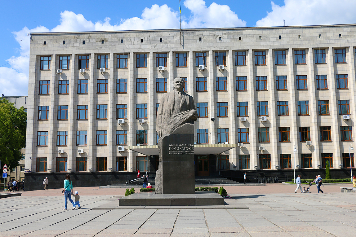 Monument to S.Korolev